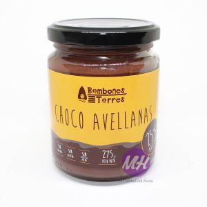 Crema choco y avellanas Bombones Torres MahatsHerri.com CalidadVasca.com