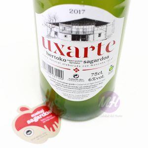 Uxarte nueva botellaMahatsHerri.com CalidadVasca.com